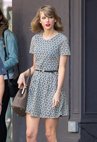 Taylor Swift à New York le 9 avril 2014