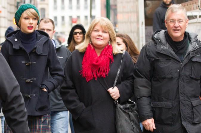 Taylor Swift et sa famille le 22 décembre 2014