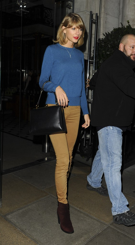 Taylor Swift à Londres le 30 novembre 2014