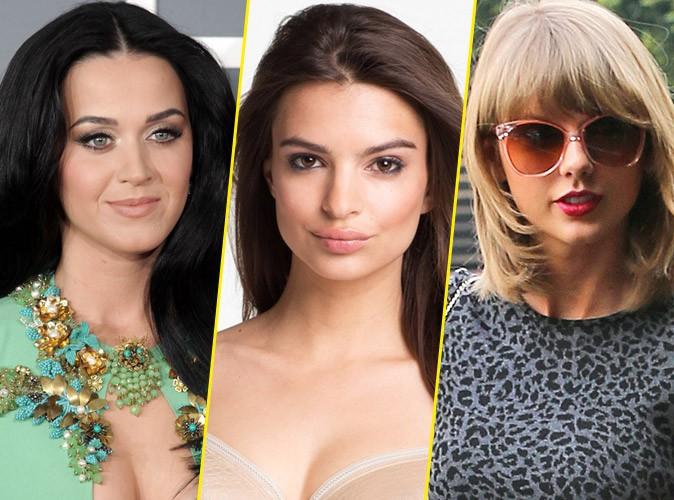 Katy Perry, Taylor Swift, Emily Ratajkowski,Jjessica Alba, Charlotte Crosby et Kate Hudson forment la femme parfaite
