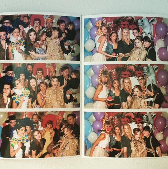 Taylor, Gigi Hadid, Sarah Hyland, HAIM, Jaime King et Hailee Steinfeld le 14 juin 2015