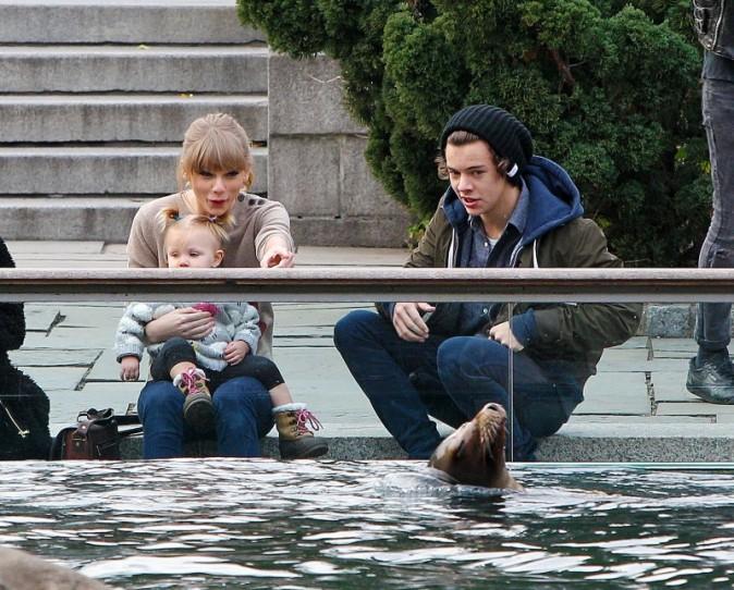 Taylor Swift et Harry Styles à New York, le 2 décembre 2012.