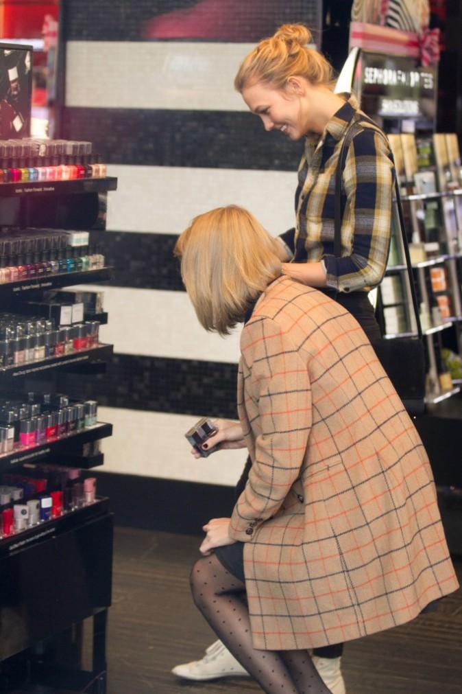 Karlie Kloss et Taylor Swift le 12 novembre 2014