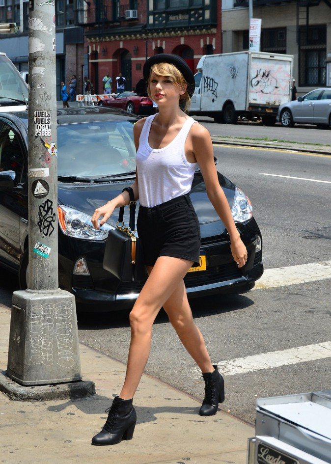 Photos : Taylor Swift : toute pimpante pour aller se dépenser avec sa BBF Karlie Kloss !