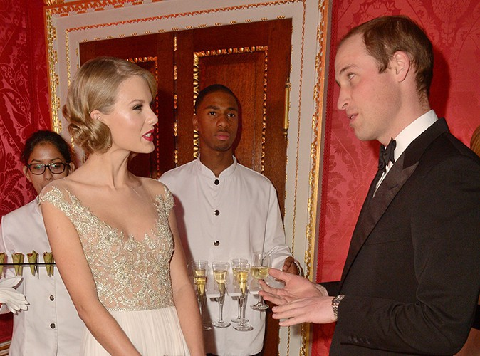 Taylor Swift et le Prince William à Londres le 26 novembre 2013