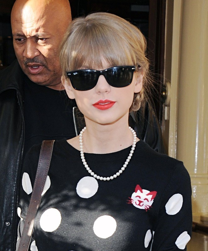 Taylor Swift le 7 novembre 2012 à Londres