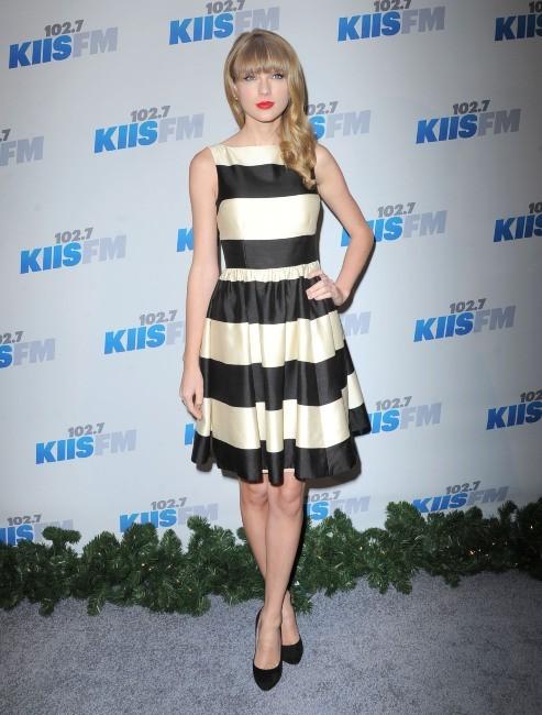 Taylor Swift le 1er décembre 2012 à Los Angeles