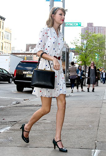 Taylor Swift à New York le 2 mai 2014
