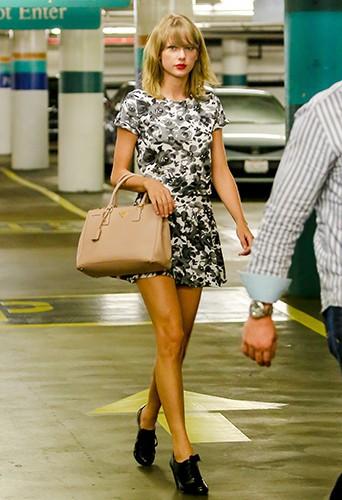 Taylor Swift à New York le 8 août 2014