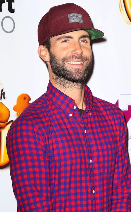 Adam Levine au Jingle Ball 2014 à New York, le 12 décembre 2014