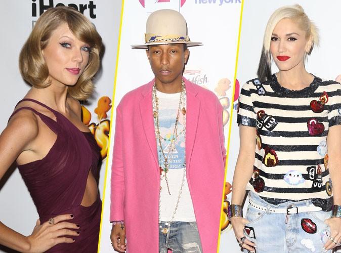 Photos : Taylor Swift, Pharrell Williams, Gwen Stefani… : pluie de stars au Jingle Ball 2014 !