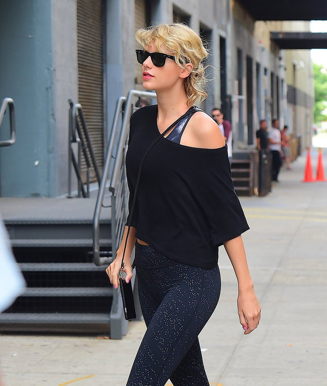 Taylor Swift à New York le 8 août 2016