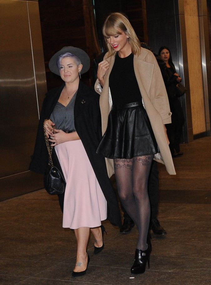 Taylor Swift et Kelly Osbourne le 11 novembre 2014