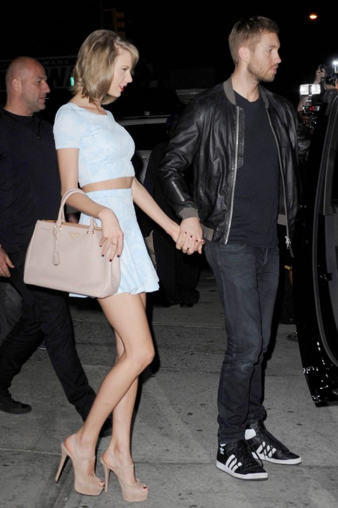 Photos : Taylor Swift sexy pour un tête-à-tête avec Calvin Harris !
