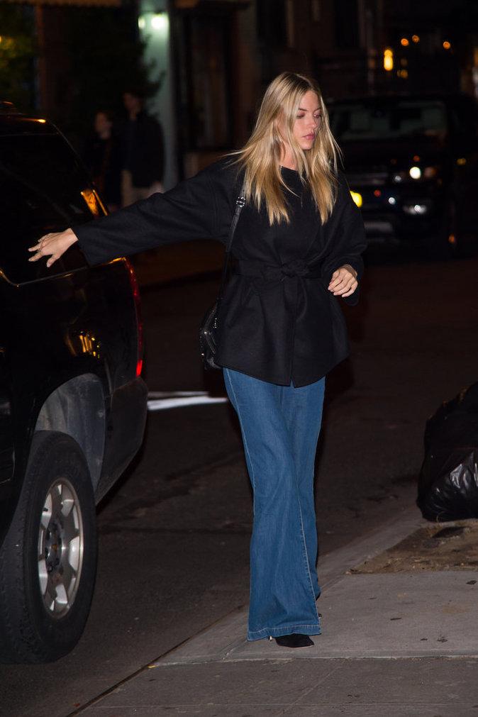 Marta Hunt à New York le 12 octobre