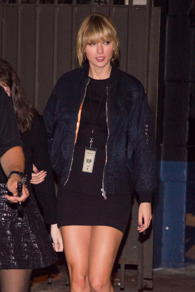 Taylor Swift à New York le 12 octobre