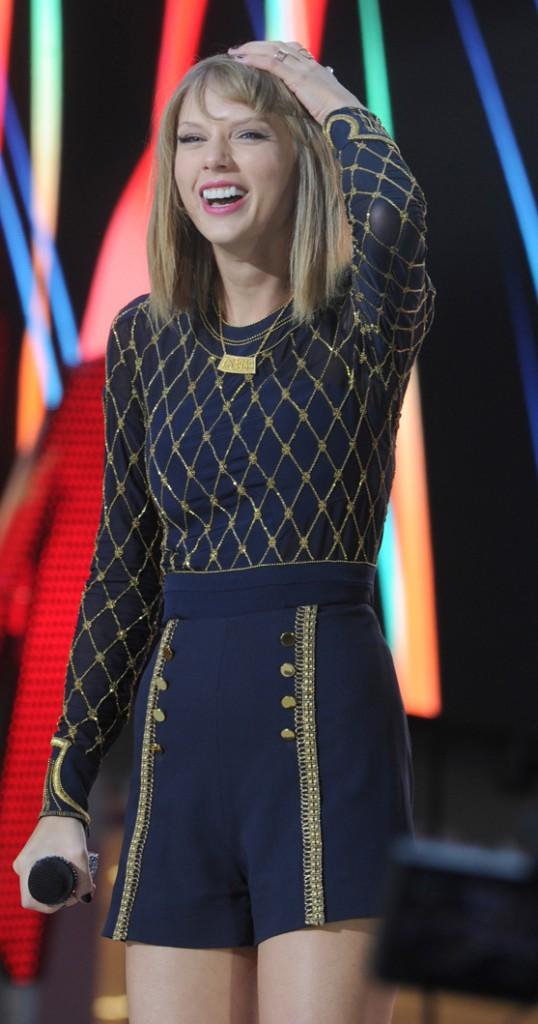 Taylor Swift à New-York le 30 octobre 2014