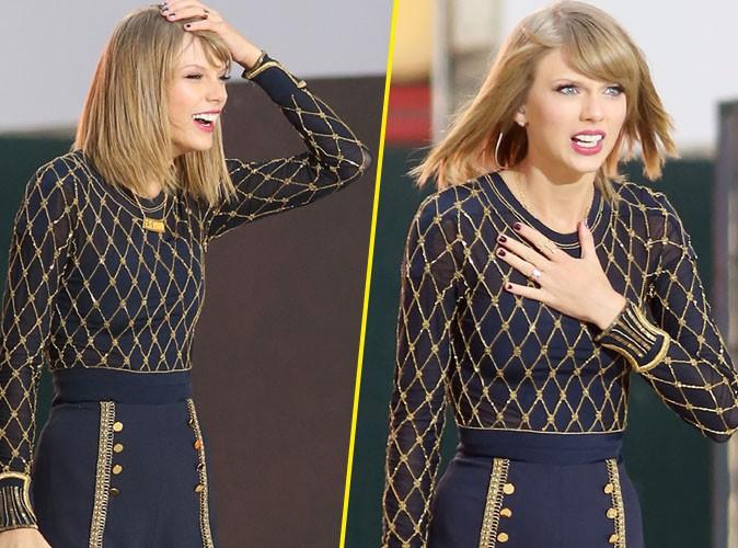 Taylor Swift : touch�e par l'amour de ses fans !