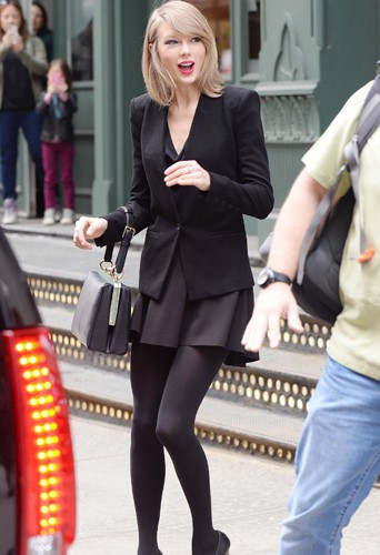 Taylor Swift à New York le 17 avril 2014