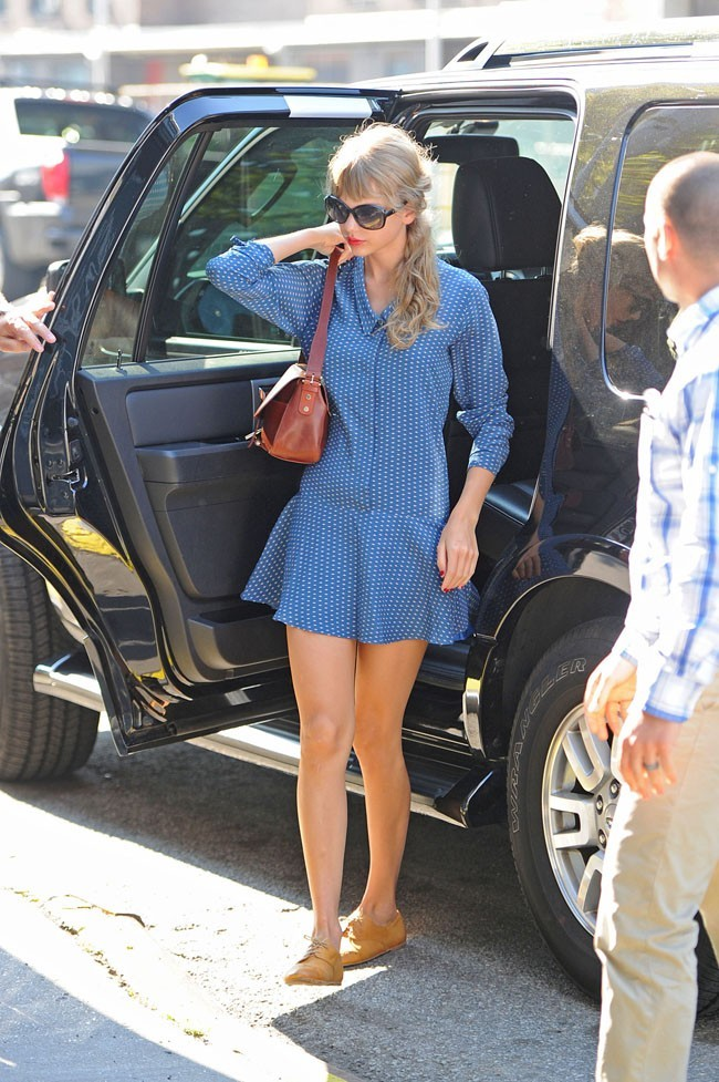 Taylor Swift le 31 août 2012 à New York