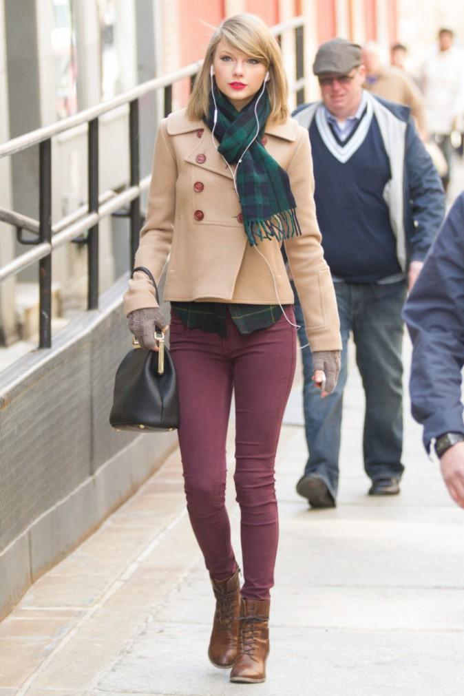 Taylor Swift à New York, le 27 mars 2014.