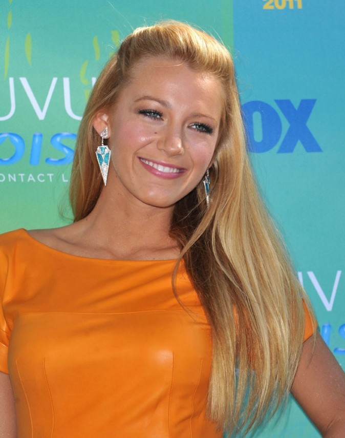 Blake Lively lors des Teen Choice Awards à Los Angeles, le 7 août 2011.