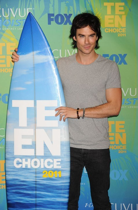 Ian Somerhalder lors des Teen Choice Awards 2011 à Los angeles, le 7 août 2011.