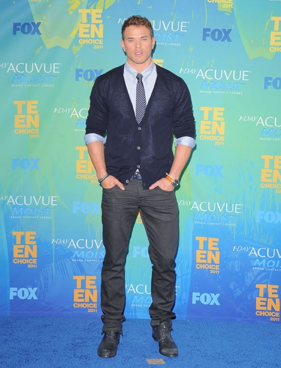 Kellan Lutz lors des Teen Choice Awards 2011 à Los angeles, le 7 août 2011.