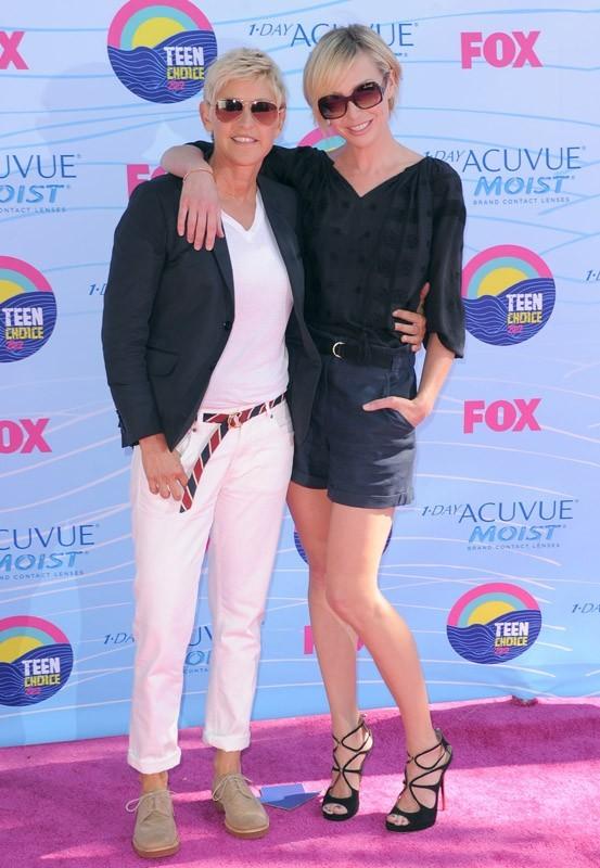 Ellen DeGeneres et Portia de Rossi aux Teen Choice Awards 2012 !