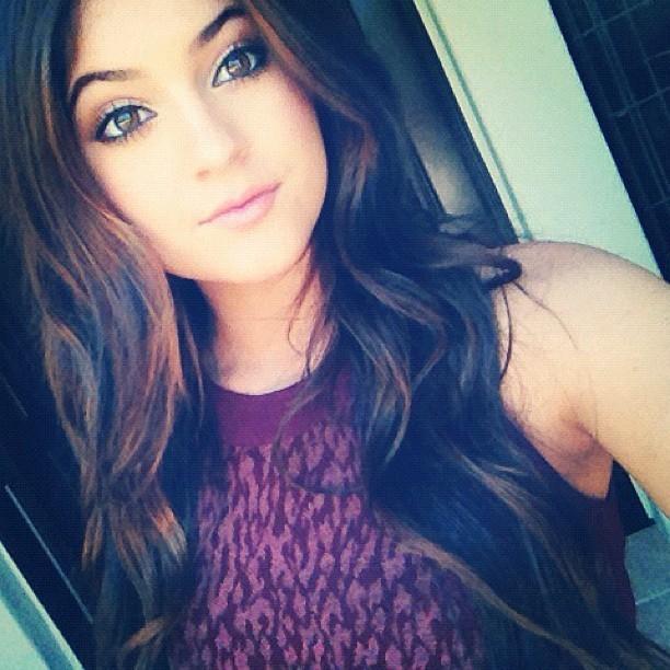 Kylie Jenner lors prête pour se rendre aux Teen Choice Awards 2012 à Universal City, le 22 juillet 2012.