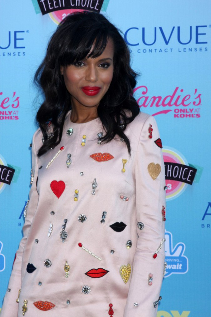 Kerry Washington lors des Teen Choice Awards à Los Angeles, le 11 août 2013.