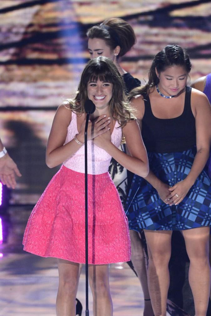 Lea Michele lors des Teen Choice Awards à Los Angeles, le 11 août 2013.