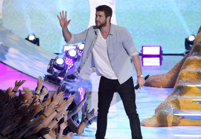 Liam Hemsworth lors des Teen Choice Awards à Los Angeles, le 11 août 2013.
