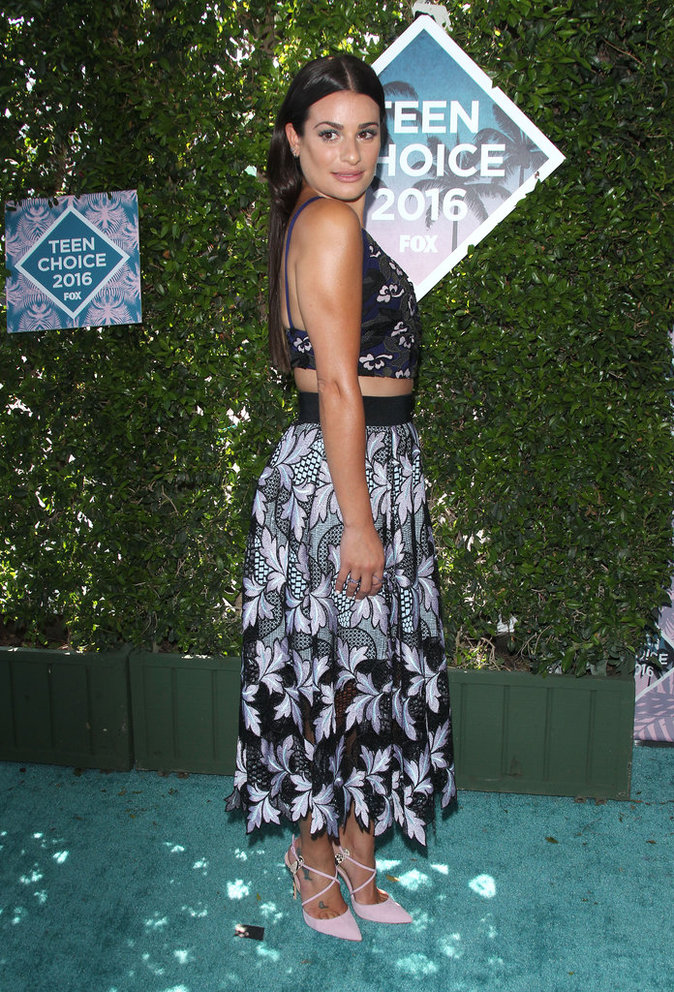 Lea Michele aux Teen Choice Awards 2016