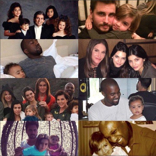 Kris Jenner a honoré les papas de la famille!