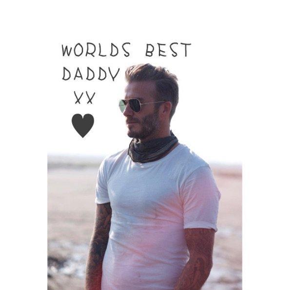 Le message de Victoria à David Beckham
