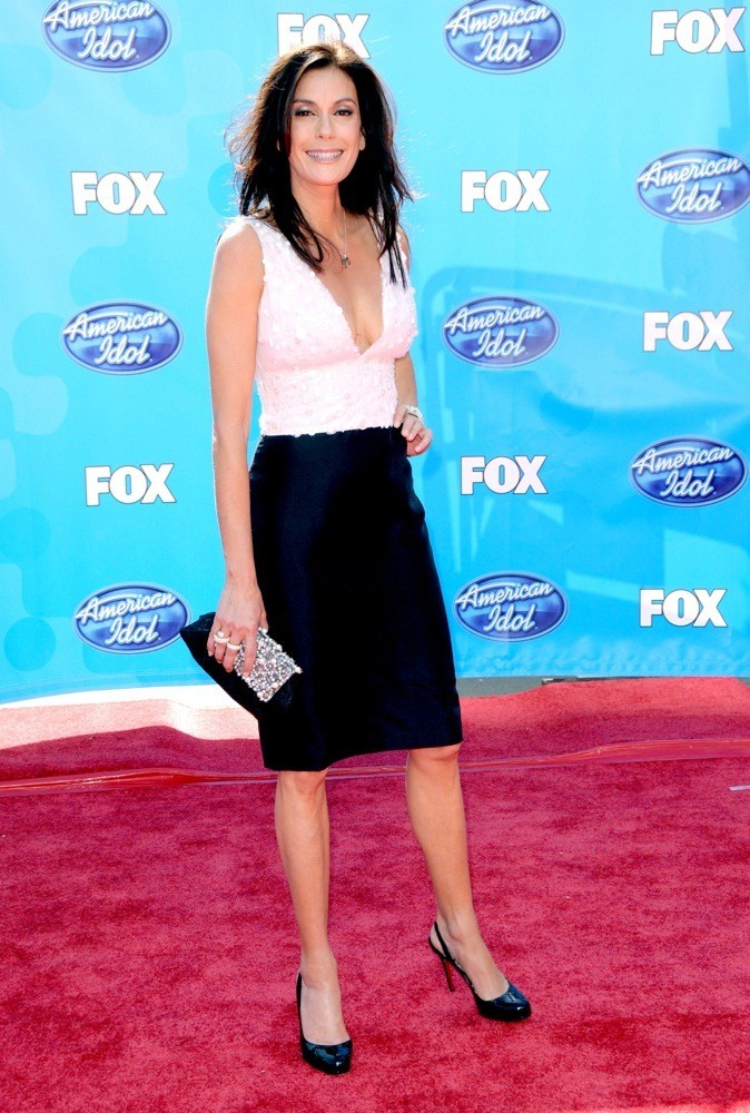 Teri Hatcher à la finale de The American Idol en 2008 !