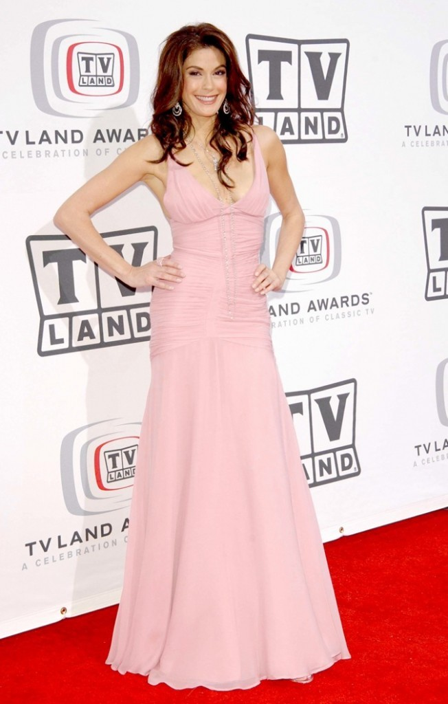 Teri Hatcher en 2005 lors des TV Land Awards !