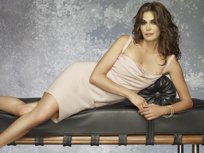 Teri Hatcher pose pour Desperate Housewives !