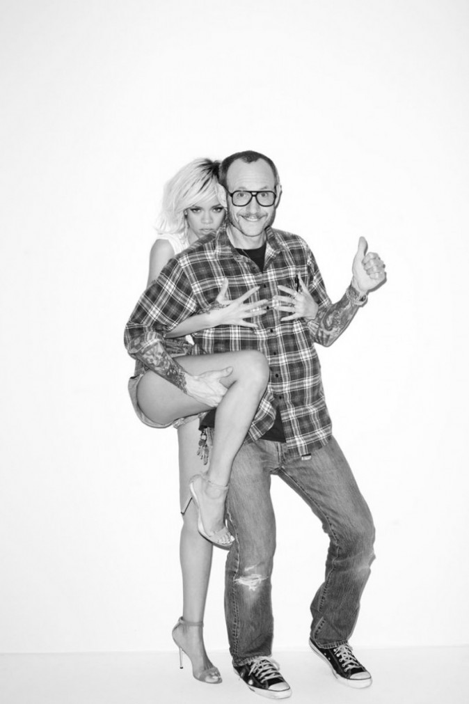 Terry Richardson et Rihanna