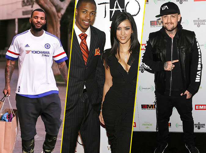 Photos : The Game, Nick Cannon, Benji Madden... l'incroyable (longue) liste des conquêtes de Kim Kardashian !