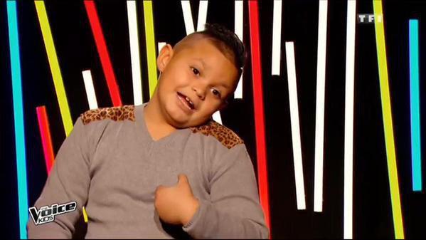 Photos : The Voice Kids : la candidate non-voyante et le fan de Kendji en finale !