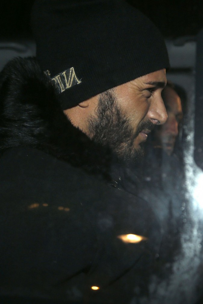 Photos : Thomas Vergara : mine fatiguée après une audition de près de six heures avec le juge !