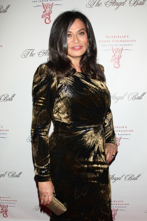 Tina Knowles à l'Angel Ball de New-York le 22 octobre 2012