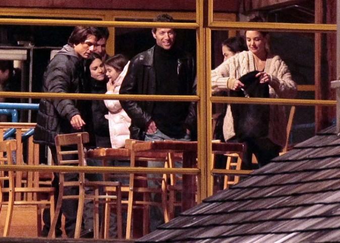 Ensemble, sur le tournage de Mission Impossible 4