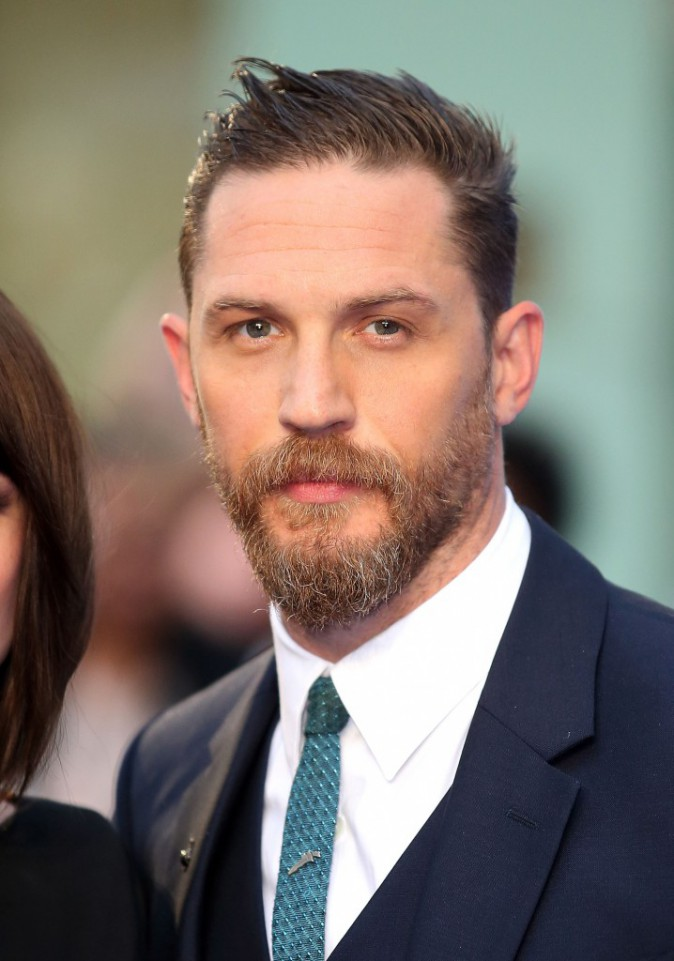 Tom Hardy le 3 septembre 2015