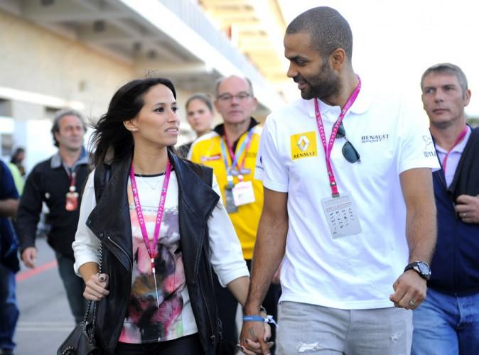 Photos : Tony Parker : week-end sportif avec sa belle Axelle !