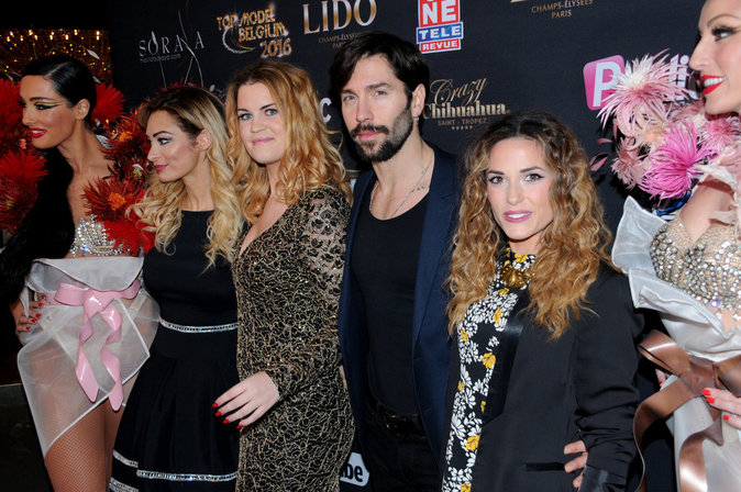 Photos : Top Model Belgium : Emilie, Capucine, Steph, et Coralie, les people sont membres du Jury :