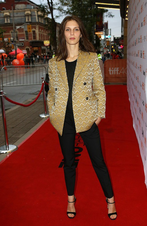 Photos : top transparent et French touch, Marine Vacth et Gilles Lellouche font sensation à Toronto !