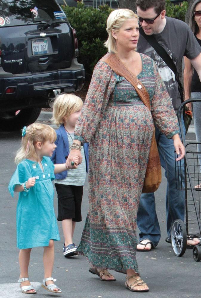En virée avec ses enfants, Tori profite tant qu'ils ne sont encore que deux !